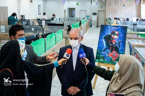 افتتاح رسمی دو استودیو  «هنر پویا» و «گنبد کبود» کانون با حضور وزیر آموزش و پرورش