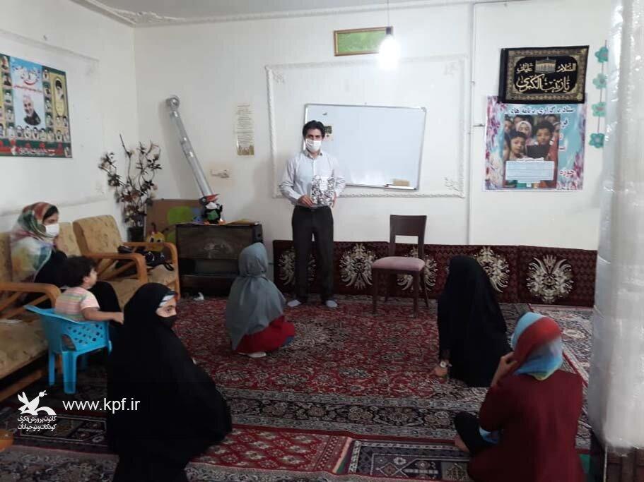 اهدای ماسک و اجرای فعالیتهای فرهنگی در روستای اغلان تپه