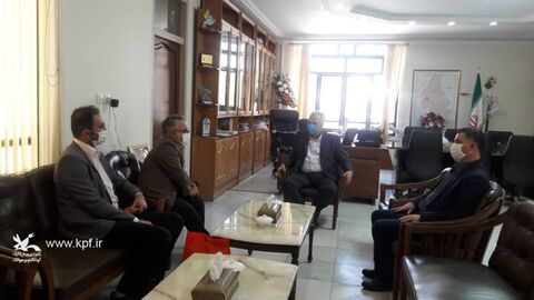 دیدار علی بینش مدیر کل کانون با موسویمعاون استاندار و فرماندارشهرستان مراغه