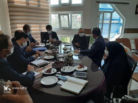 دیدار علی بینش مدیر کل کانون با یعقوبی فرماندارشهرستان چاراویماق