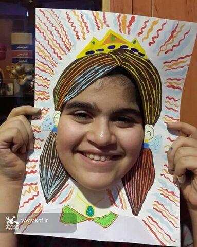 النا احمدپور-10ساله-بهبهان