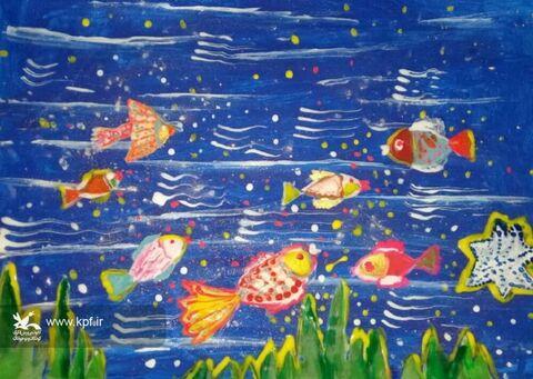 نقاشی.زهرا دریس. ۱۷ ساله. اهواز