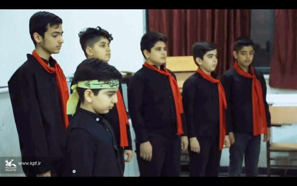 اجرای سرود نمایش«شهر شقایق» مرکز فرهنگی هنری شماره دو کانون گنبدکاووس