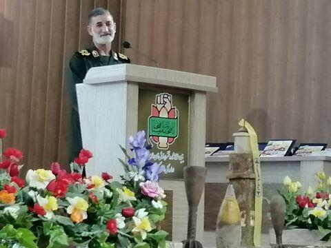 مراسم قدردانی از پنج عضو برگزیده مسابقه کشوری «همچون پدر مهربان» در کرمانشاه