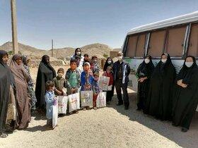 کاروان مهر محرمی کانون نهبندان به روستاهای کم برخوردار این شهرستان رفت