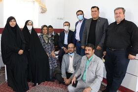 دیدار کانونیهای سمنان با خانواده شهید نوجوان