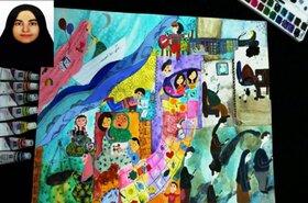 موفقیت عضو نوجوان کانون بشرویه در نهمین جشنواره  نوجوان سالم