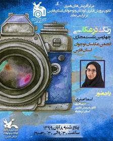 اعضا و مربیان کانون فارس با «رنگ در عکاسی» آشنا شدند