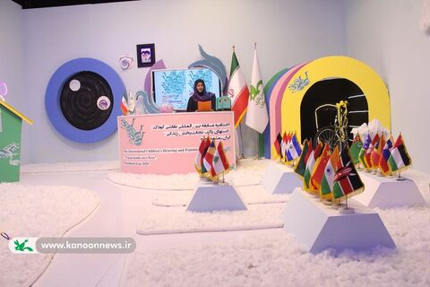 اختتامیه مسابقه بینالمللی نقاشی کودک دستهای پاک