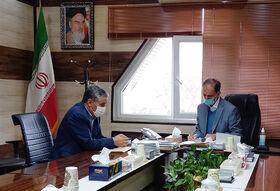 دیدار مدیرکل کانون استان با شهردار اردبیل