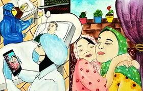 درخشش اعضای کانون آذربایجانغربی در مسابقه بینالمللی نقاشی «دستهای پاک»