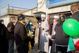 کتابداران دو چرخهسوار کانونی، در آخرین روز حرکت خود به دفتر نماینده ولیفقیه در استان رسیدند