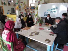 نشست صمیمی مدیرکل کانون استان اردبیل با اعضای کتابخوان مراکز کوثر