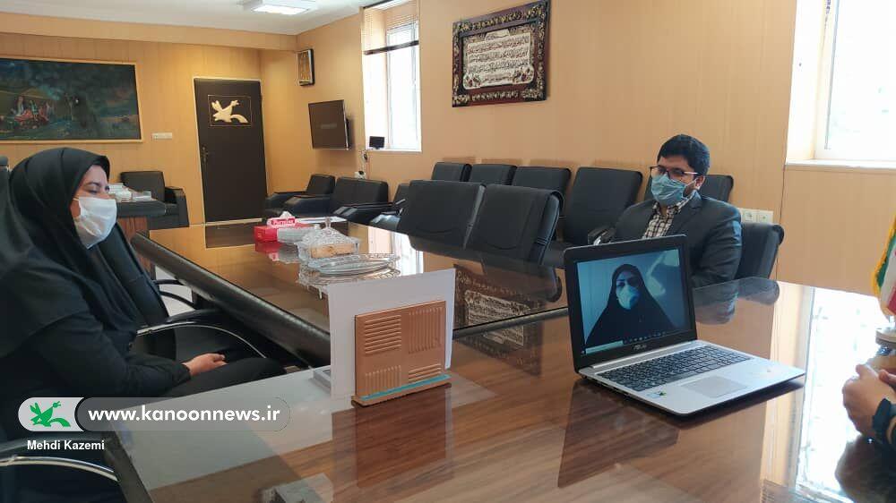 تعامل کانون پرورش فکری سیستان و بلوچستان و آموزش و پرورش استثنایی استان برای گسترش فعالیتها در فضای مجازی