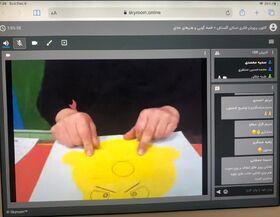 کارگاه مجازی آموزش قصهگویی و هنرهای خلاق در کانون گلستان