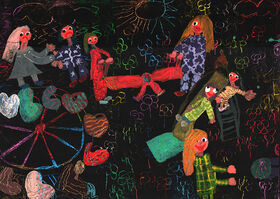 درخشش اعضای کانون استان اردبیل در مسابقه نقاشی «بازیهای بومیمحلی»