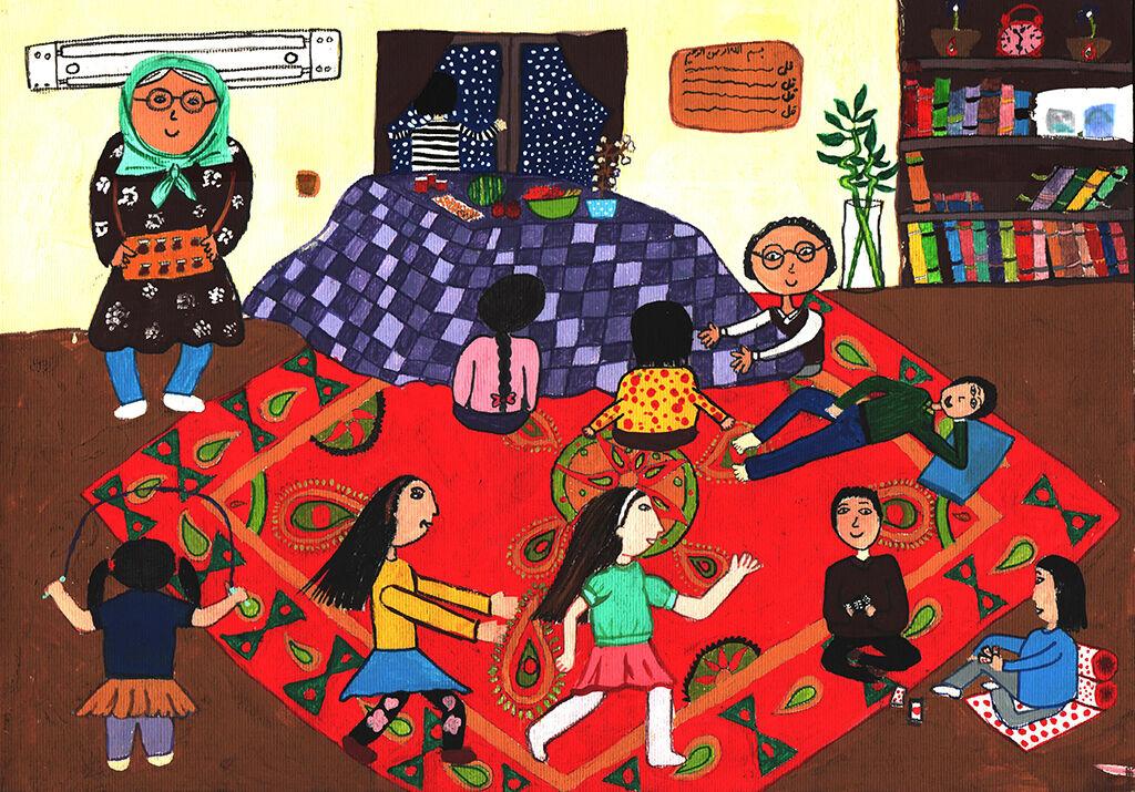 درخشش اعضای کانون در مسابقه نقاشی «بازیهای بومیمحلی»