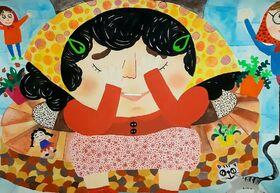 کودکان زنجانی در مسابقه نقاشی «بازیهای بومیمحلی» درخشیدند