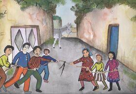 پنج عضو کانون کرمان در مسابقه نقاشی« بازیهای بومی محلی» برگزیده شدند