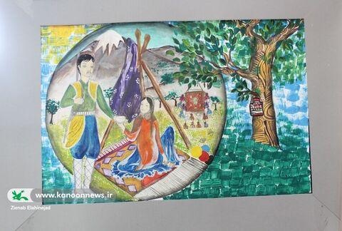 """نمایشگاه جشنواره بومی محلی """"تمدار"""" در کانون کهگیلویه و بویراحمد"""