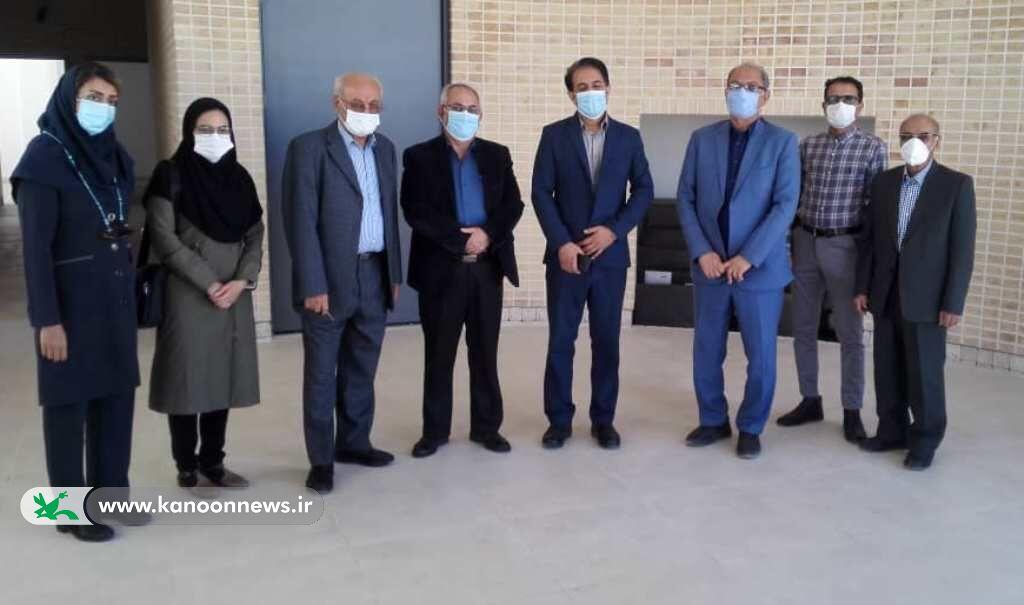 سرپرست کانون فارس از مرکز فرهنگی هنری اوز بازدید کرد
