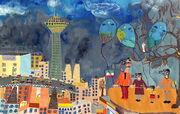 Iranian Children Success at Kao International Environment Painting Contest for Children, Japan