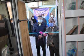 کتابخانه سیار روستایی شماره ۲ بیرجند افتتاح شد