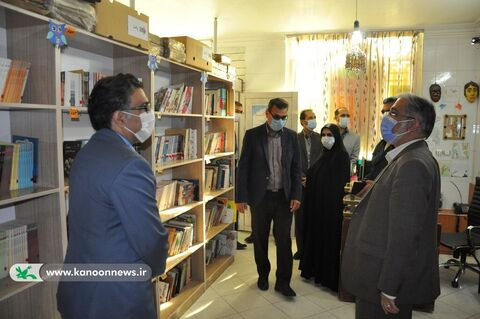 کتابخانه سیار روستایی شماره 2 بیرجند افتتاح شد