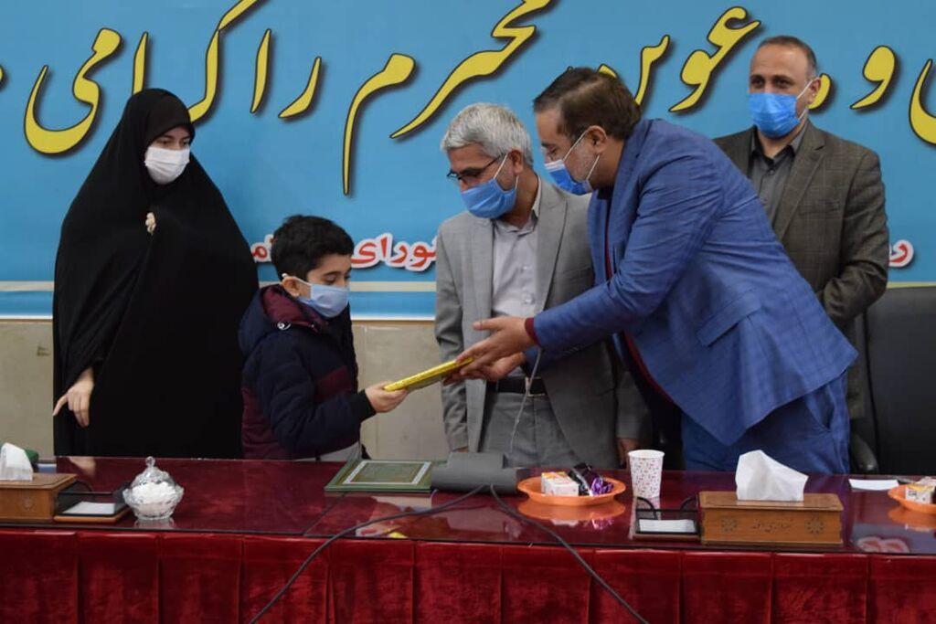 تقدیر از اعضای برگزیده پویش کتابخوانی کانون استان قزوین