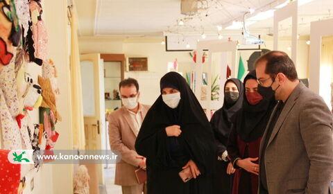 افتتاح نمایشگاه لبخند قصه گو
