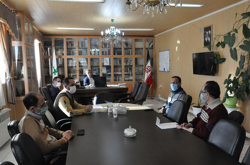 تشکیل سومین جلسهی شورای اقامه نماز کانون استان اردبیل