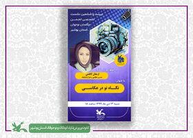 اعضا انجمن عکاسان بوشهر با نگاه نو در عکاسی آشنا شدند
