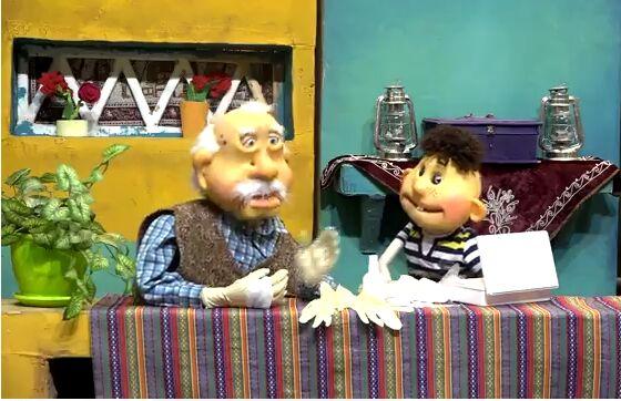 ساخت نمایش عروسکی درباره ساماندهی پسماند