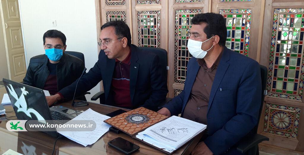 اولین وبینار سراسری کارشناسان و مربیان کانون استان یزد