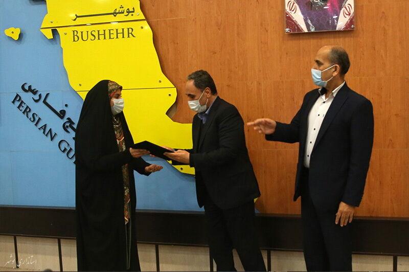 کانون پرورش فکری اداره برتر در اوقات فراغت استان بوشهر معرفی شد