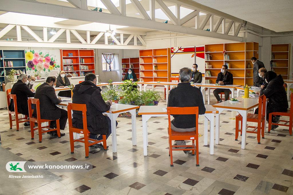 هشتمین جلسه کارگروه شورای راهبری کانون استان همدان برگزار شد