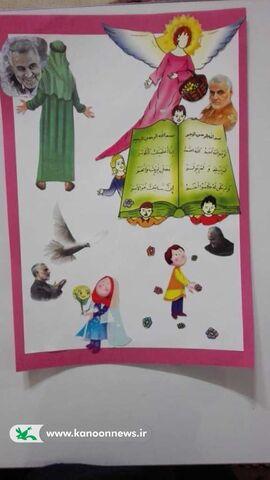 آثار برتر مهرواره فرزندان ولایت در بخش فتوکلاژ