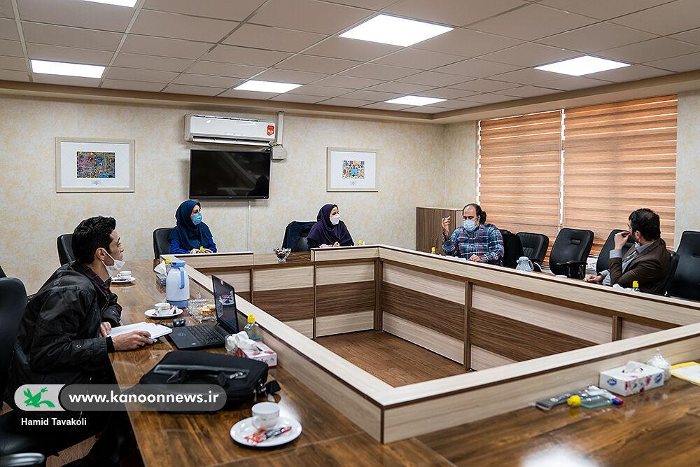 نشست شورای سیاستگذاری انجمن شاعران نوجوان کانون برگزار شد