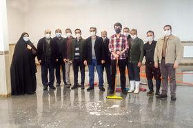 بازدید مدیرکل کانون استان همدان، از مرکز فرهنگیهنری شماره ۲ نهاوند و مرکز آماده افتتاح شهر قهاوند