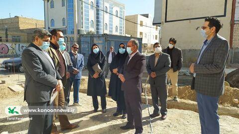 جلسه مدیرکل کانون سیستان و بلوچستان و رییس سازمان مدیریت و برنامهریزی استان
