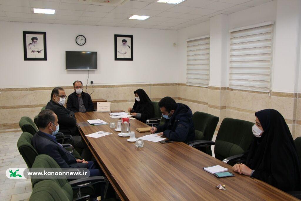 چهارمین جلسه کارگروه توسعه مدیریت کانون پرورش فکری استان قم