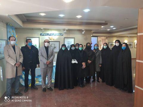 گزارش تصویری افتتاحیه نمایشگاه سردار آسمانی