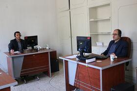 با حضور در مرکز سامد تلفنی  به سوالات مردم پاسخ دادند