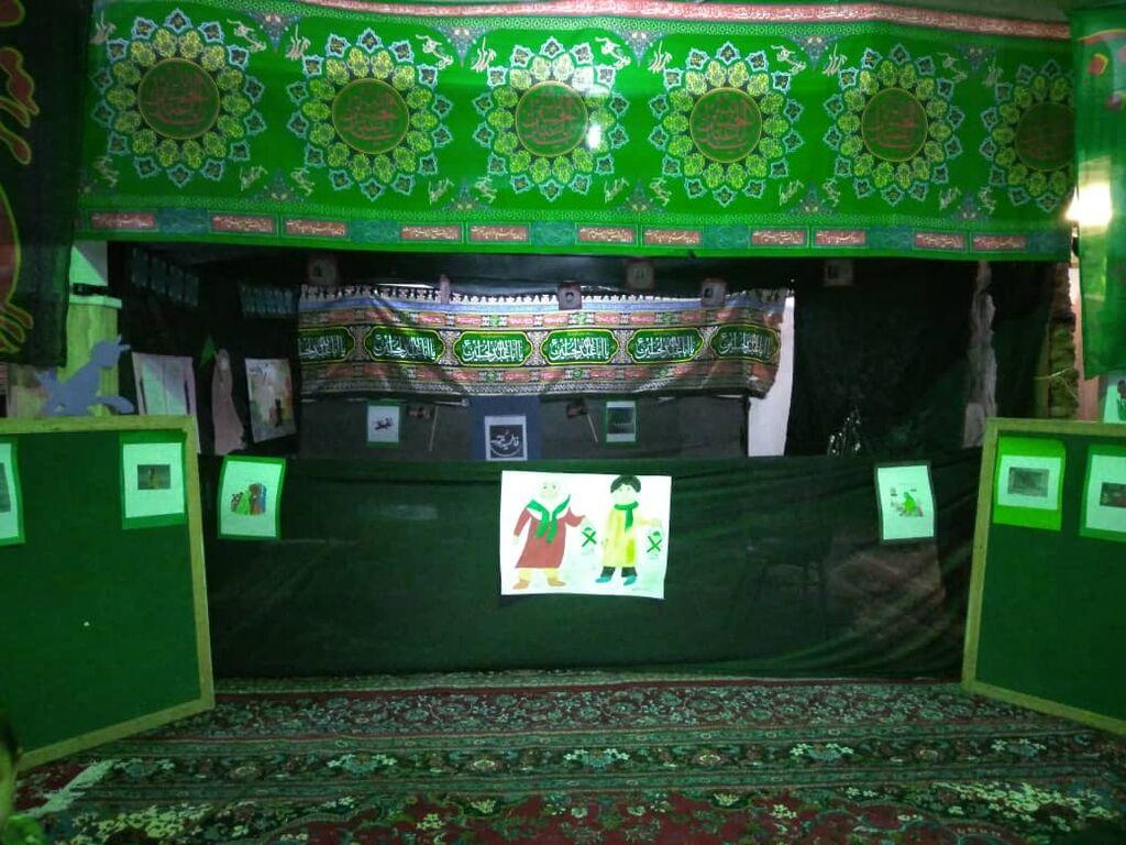 گرامیداشت ایام فاطمیه(س) در مراکز فرهنگی و هنری کانون استان قزوین