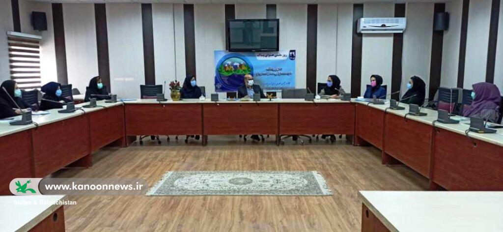 گسترش همکاریهای کانون پرورش فکری و محیط زیست استان در حوزهی کودک و نوجوان