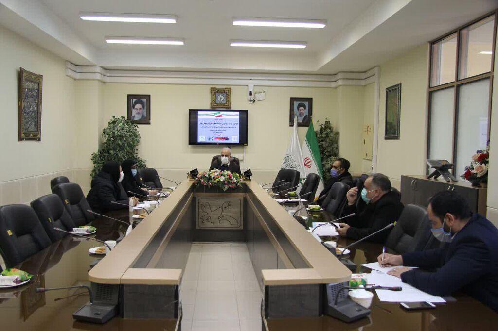 دومین جلسه کارگروه کودک و نوجوان ستاد دهه فجر 1399 در آذربایجانغربی برگزار شد