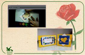 تبریک متفاوت روز مادر در کارگاه کاردستی کانون بوشهر