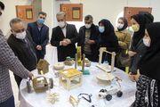 """افتتاح نمایشگاه """"دست سازههای بومی بازی"""""""