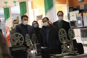 نمایشگاه دستگاههای آپارات در سینما هویزه مشهد