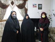 مدیرکل کانون استان گلستان با مادران گرانقدر شهدا دیدار کرد